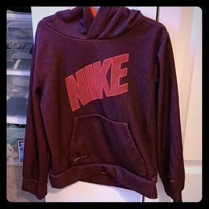 Nike DRI-FIT boys hoodie! Barely warn!